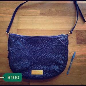 Marc Jacobs shoulder bag, snake pattern, purple.